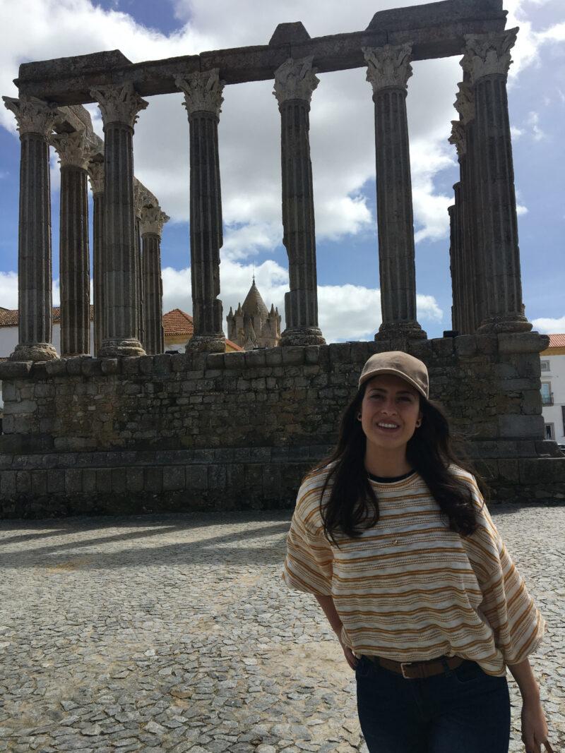 Templo de Évora.