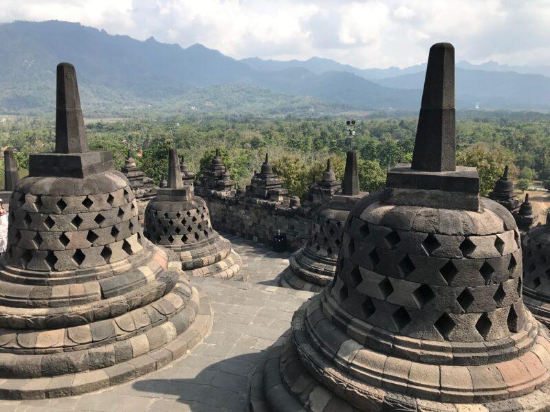 Templo de Borobudur.