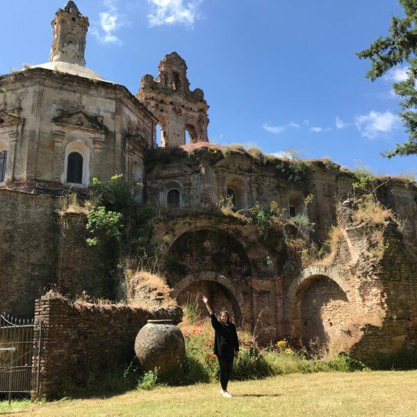 Exterior de la Cartuja de Cazalla. Escapada rural Sierra Norte