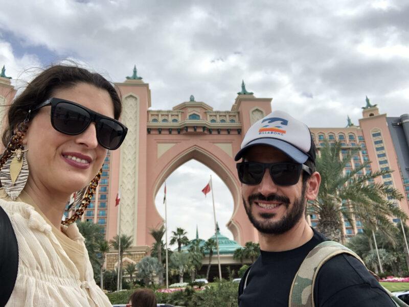 Edificio visitado en nuestras 24 horas en Dubai.
