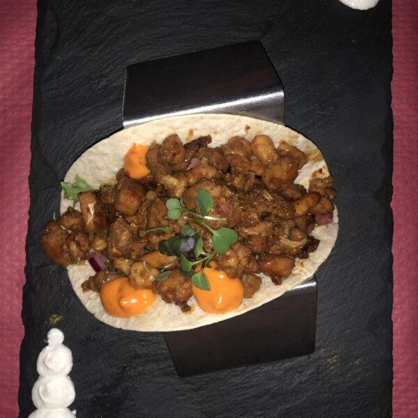 El mejor plato de los bares de la costa gaditana, el taco de corvina