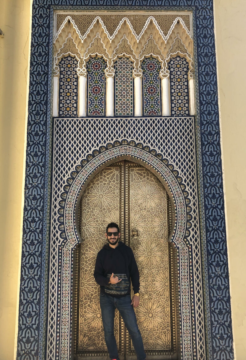 Top 3. Puerta Palacio Real